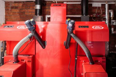 Biomass Boiler Installation