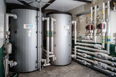 FP McCann Biomass Boiler Installation